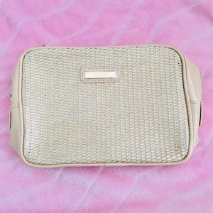 VERSACE PARFUMS Patent Make up/Travel Bag NWOT